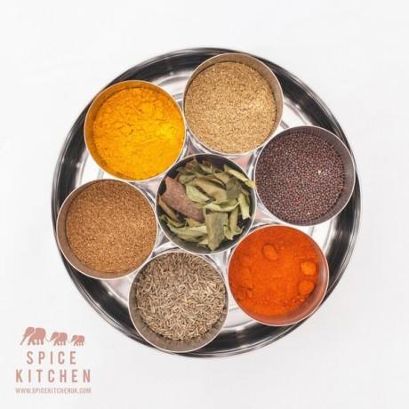 Empty Indian Spice Tin / Masala Dabba
